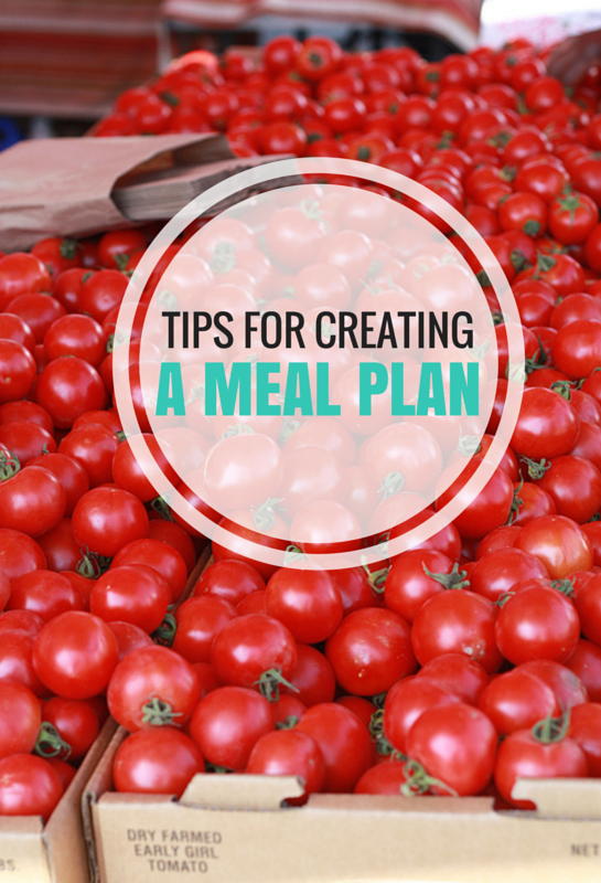 Tips for Meal Planning // One Lovely Life