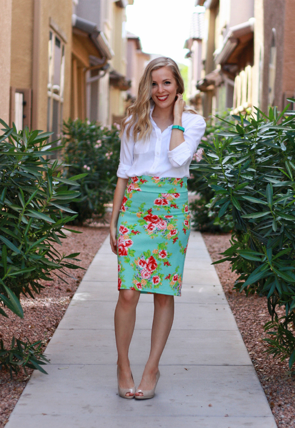 Agnes & Dora Skirt + A Giveaway // One Lovely Life