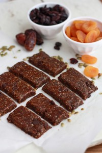 Apricot Cherry Snack Bars