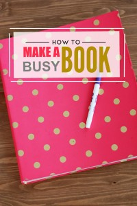 How to Make a Busy Book // One Lovely Life