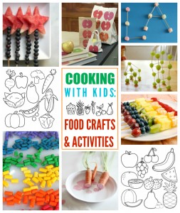 Cooking with Kids: Food Crafts & Activities // One Lovely Life