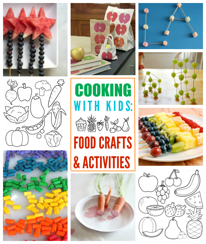 Fun with kids cooking and food one lovely life for Fun kid food crafts