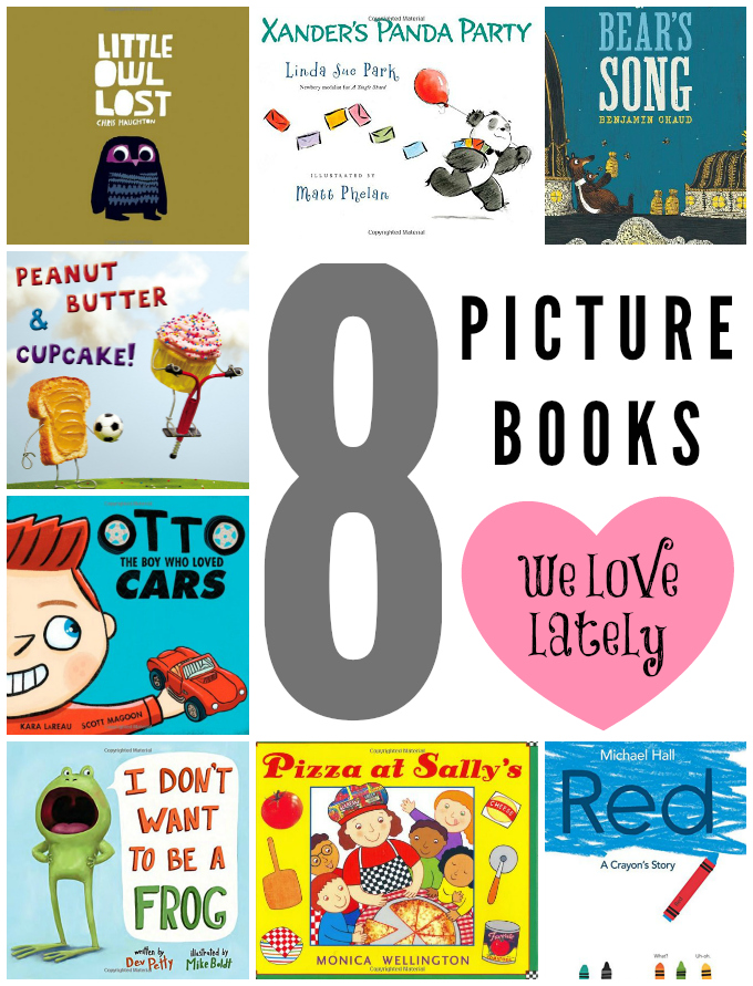 8 Picture Books We Love Lately // One Lovely Life