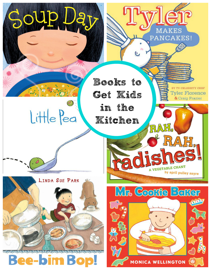 Books to Get Your Kids in the Kitchen // One Lovely Life
