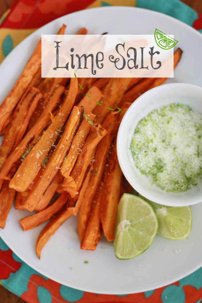 Lime Salt - Perfect for veggies, mains, and sides. // One Lovely Life
