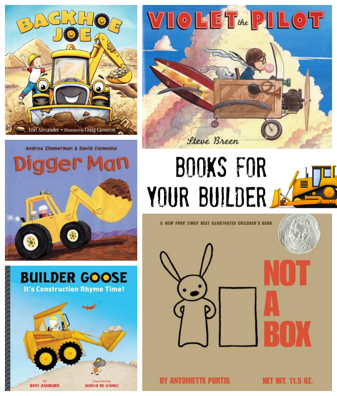 Books for Your Builder - Construction and Building Books // One Lovely Life