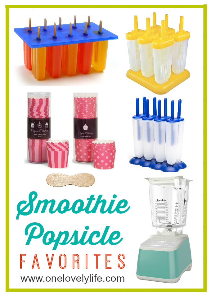 The best popsicle molds + everything you need for healthy, happy summer snacking! // One Lovely Life