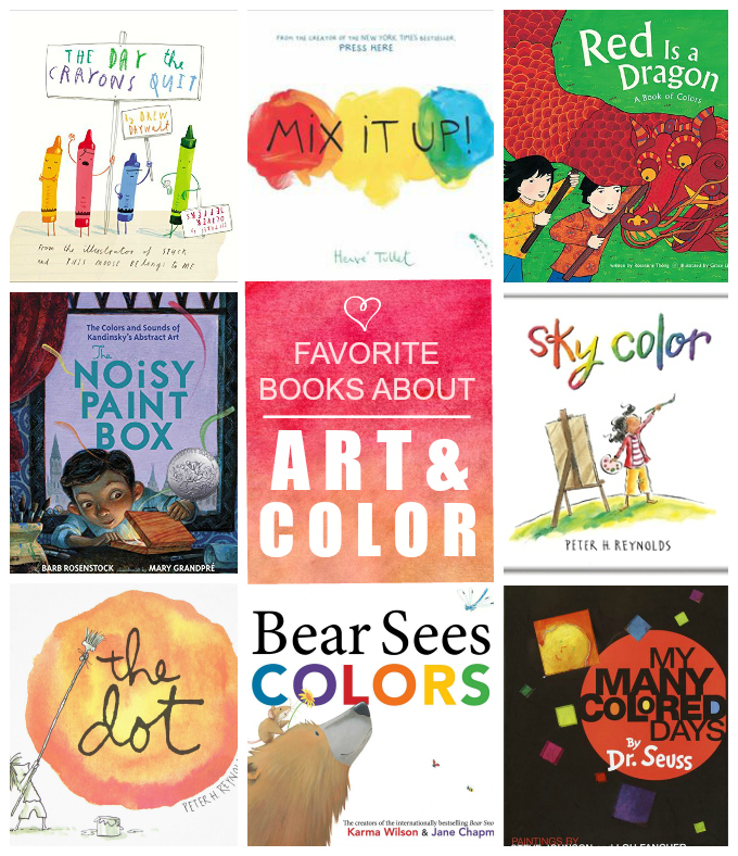 Fun with Kids: Books About Color and Art - One Lovely Life