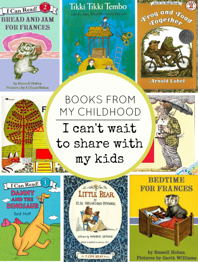 Books from my Childhood I can't wait to share with my own kids // One Lovely Life