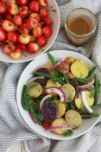 French Style Potato Salad // One Lovely Life