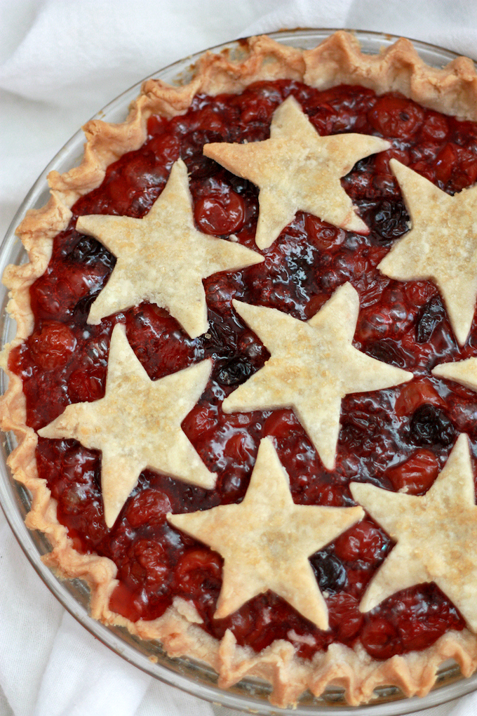 The Andrus's Life Changing Cherry Pie - One Lovely Life