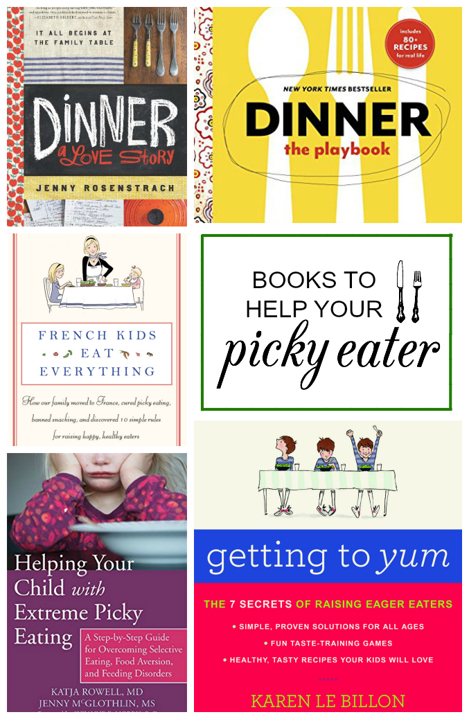 Books For Picky Eaters. Our favorite resources for picky eaters to problem feeders. // One Lovely Life