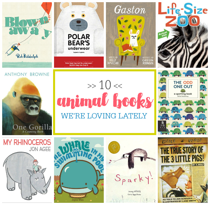 10 Animal Books We're Loving Lately // One Lovely Life