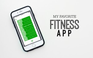 My Favorite Fitness App >> One Lovely Life