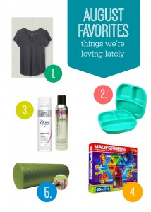 August Faves - A few tried, tested, and loved favorites from www.onelovelylife.com