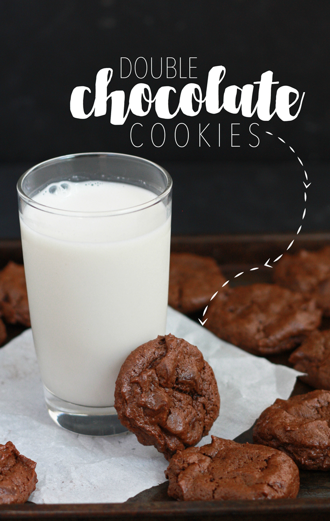 The yummiest double chocolate chips cookies - Grain free, dairy free, and naturally sweetened! // One Lovely Life