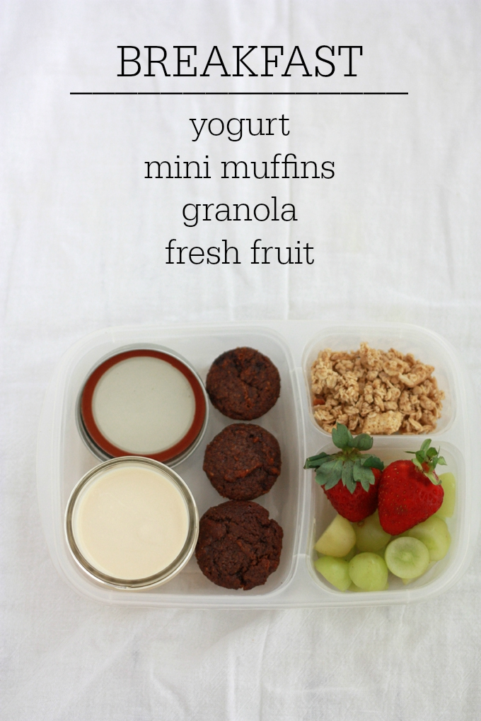 Easy Bread-free lunch ideas from www.onelovelylife.com