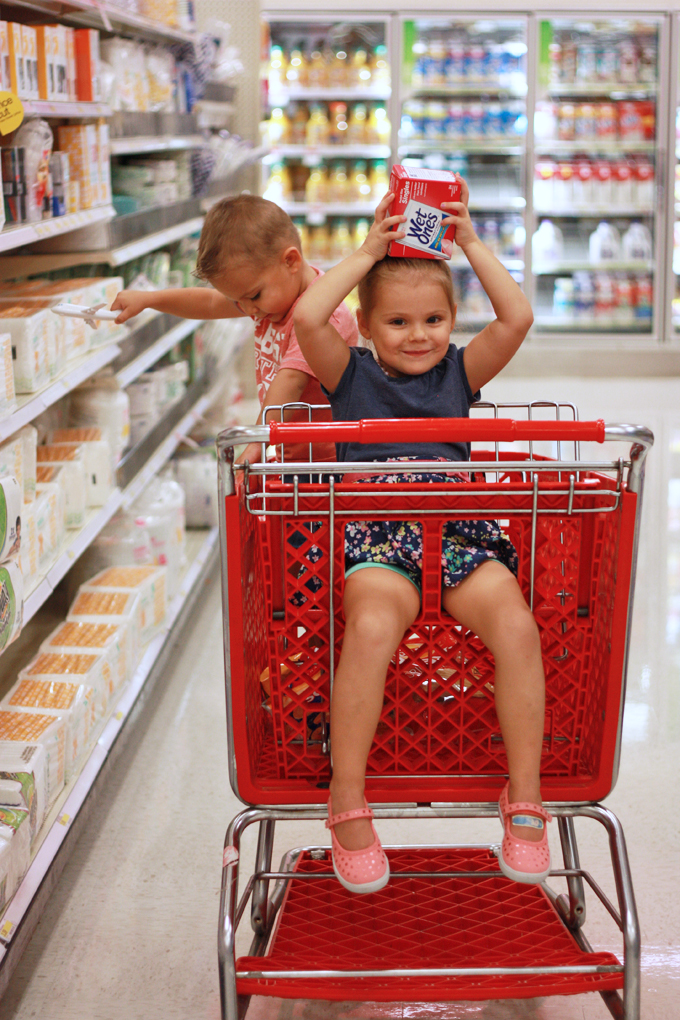 Tips for Shopping with Little Ones // One Lovely Life