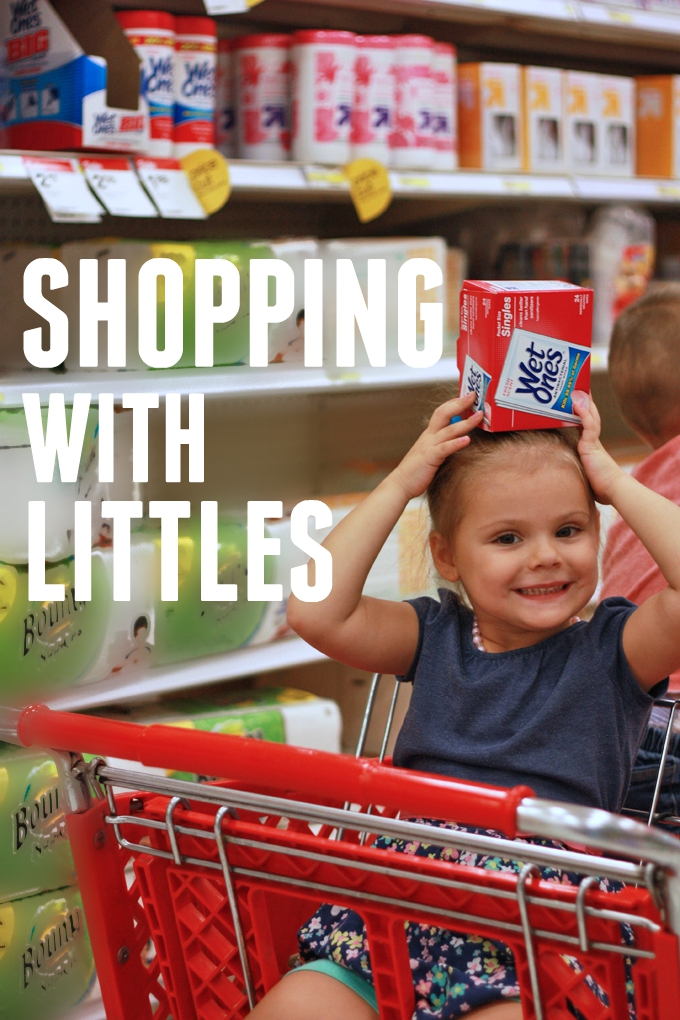 Tips for Smooth Shopping with Little Ones // One Lovely Life