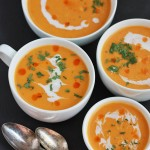 This curried butternut squash soup is perfect for sore throats, chilly days, or a change of pace. From www.onelovelylife.com