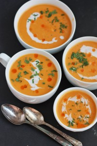 Creamy Curried Butternut Squash Soup