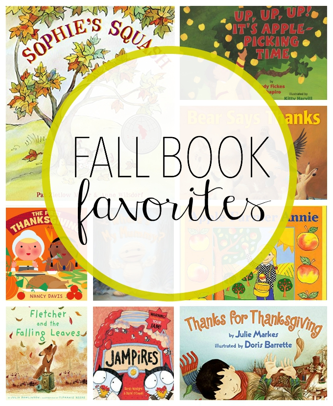 some of the best fall books for toddlers and preschoolers from wwwonelovelylife