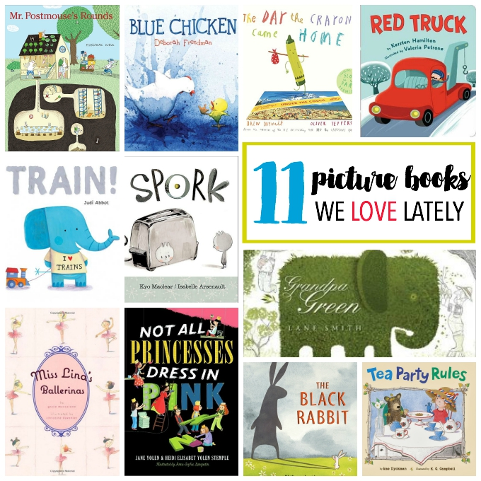 11 Picture books we LOVE! // One Lovely Life
