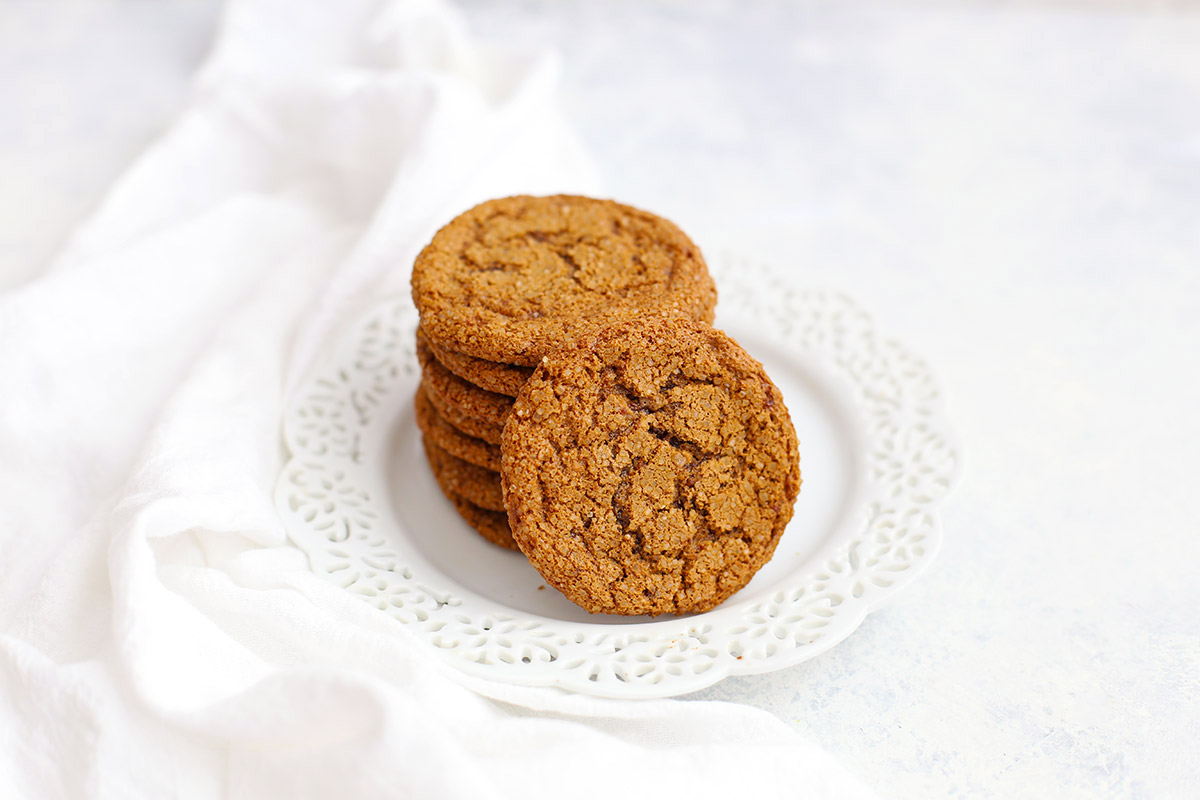 Paleo Ginger Cookies - One Lovely Life