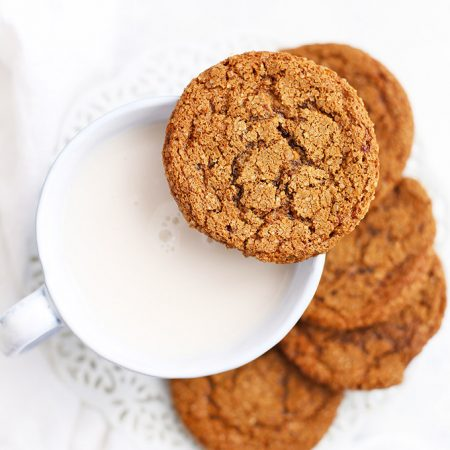 Paleo Ginger Cookies - Soft like ginger cookies or crispy gingersnaps--your choice!