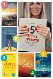 5 Great Books I've Read This Year & Why I Loved Them. www.onelovelylife.com