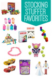 Some of our favorite stocking stuffers for kids. Lots of great ideas here!