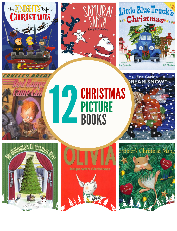 12 Magical Christmas Picture Books - Funny, clever, reverent, and beautiful books. A little bit of everything!