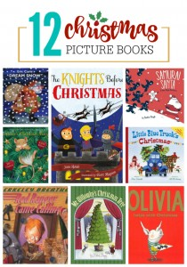 12 Fantastic Christmas Books - Old favorites and some brand new ones to add to your collection!