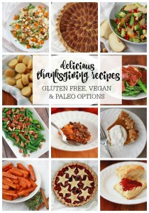 Amazing recipes for Thanksgiving. Plenty of delicious recipes, many with a healthy twist!