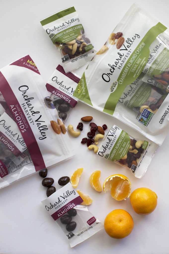 Treat Yo'Self - These Orchard Valley Harvest snack packs are one of my go-to snacks .