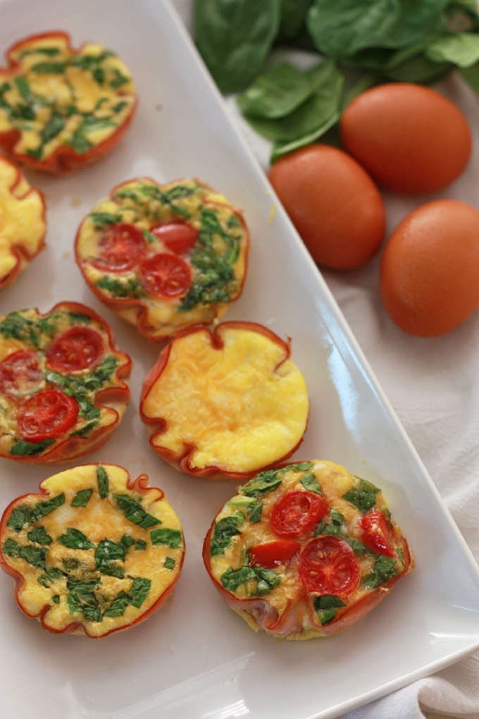 Easy Paleo Mini Quiche - Add any filings you like for endless variety!