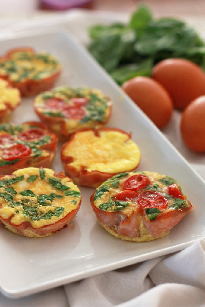 Easy Paleo Mini Quiche. A simple, easy way to keep your eggs interesting!