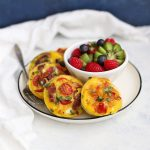Paleo Mini Quiche - An awesome meal prep breakfast or lunch on the go. Whole30, gluten free, dairy free!