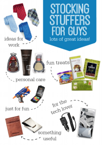Great Stocking Stuffer Ideas for Guys!