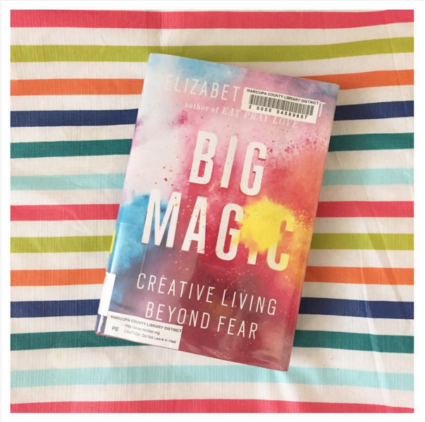 If you haven't read Big Magic yet, you'll love it! This plus my other favorite books for a fresh start at www.onelovelylife.com