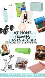 Our Favorite Gear for At-Home Workouts from One Lovely Life