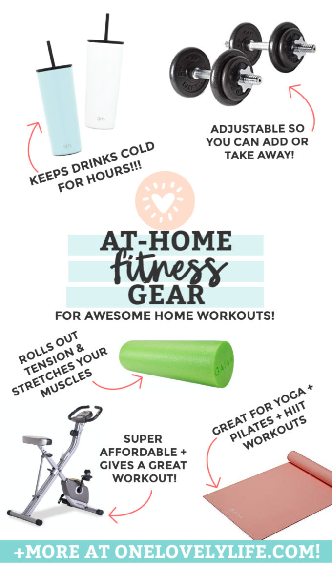 Favorite At-Home Fitness Gear from One Lovely Life