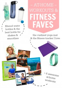 At Home Workouts & Fitness Faves