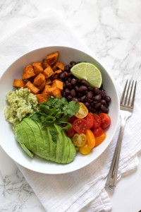 Chipotle Sweet Potato Burrito Bowls