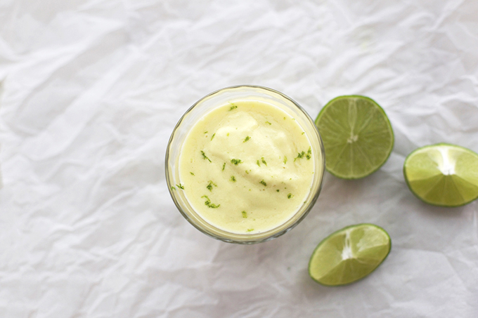 We love the tropical vibe of this Pineapple Coconut Lime Smoothie. A creamy vegan treat!