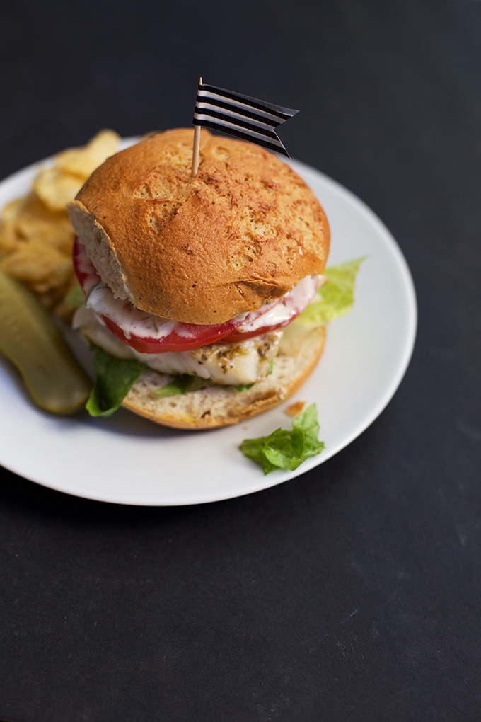 Quick, easy, and flavorful. These Spicy Fish Sandwiches are a big win! (Gluten free, dairy free)