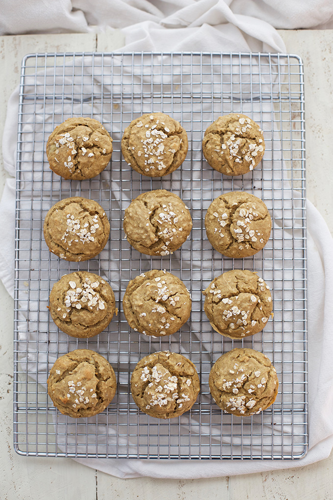 We've made so many batches of these Gluten Free Banana Muffins. They're amazing!