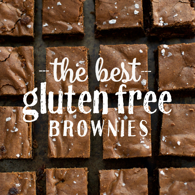 There's an easy secret that makes these the BEST gluten free brownies out there!