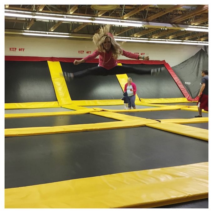 101 Things to Do in 1001 Days // Go to a Trampoline Place! Check.