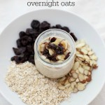 When you need a quick, healthy breakfast, overnight oats are my go-to! LOVE these Cherry Almond Oats